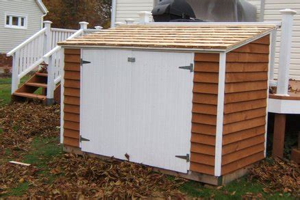 now eol snowblower storage shed ideas details my new deck and bicycle shed by wood smith lumberjocks