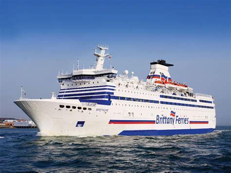 ferry boat in french bg carousel fleet bretagne brittany ferries