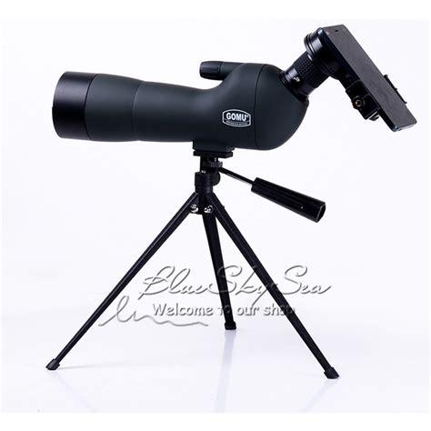 Gomu Spotting Monocular Telescope With Tripod 20 X 60 X 60 gomu 20 60x60 spotting scope monoculars telescope w tripod cell phone adapter ebay