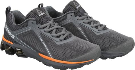 Sepatu Running Reebok Hexaffect 5 0 Grey Original Asli Murah reebok jet dashride 4 0 running shoes for buy grey