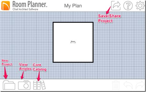 room planner iphone app to design rooms house models with 3d view