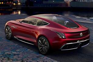 All Electric Cars For Sale Uk All Electric Mg E Motion Concept Is Supercar For