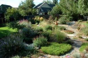 denver landscaping colorado springs xeriscape garden mediterranean