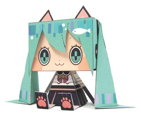 Hatsune Miku Papercraft - crunchyroll cospa announces new hatsune miku graphig