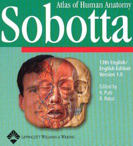 sobotta atlas of human anatomy cd rom