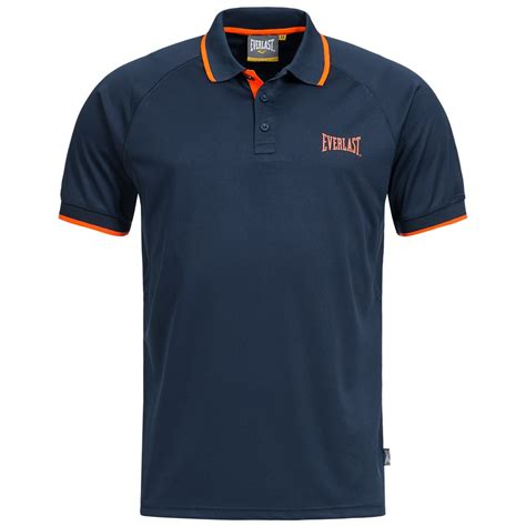 Polo Shirt One Logo 1 everlast polo shirt freizeit logo shirt poloshirt polo