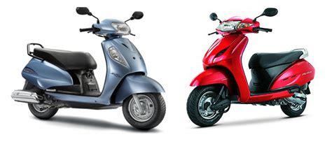 Suzuki Activa Comparo Honda Activa Vs Suzuki Access Updated