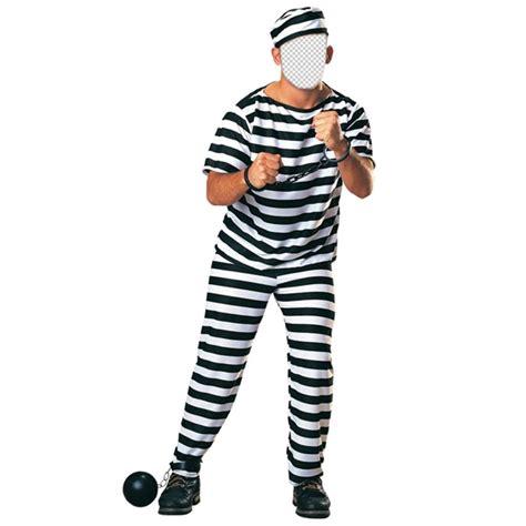 cadenas en english disfraz de un preso con cadenas para editar con tu foto