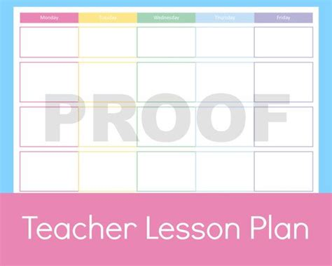 printable lesson plan book pages 1000 images about printable planner pages on pinterest