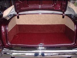 shiny hiney custom trunk panels 1955 56 57 chevy trunk