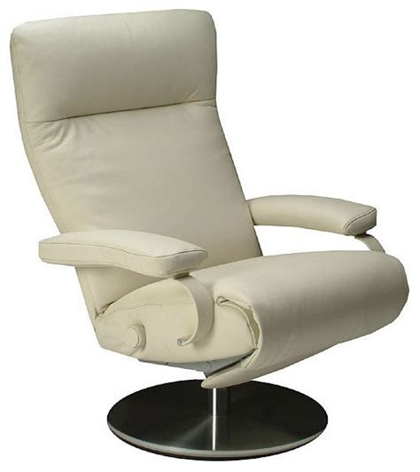 Accent Recliner by Lafer Sumi Swivel Recliner Modern Armchairs And Accent