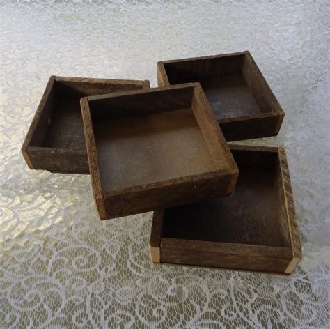 Wedding Box Organiser by Wood Box Wood Tray Reclaimed Wood Rustic Wedding