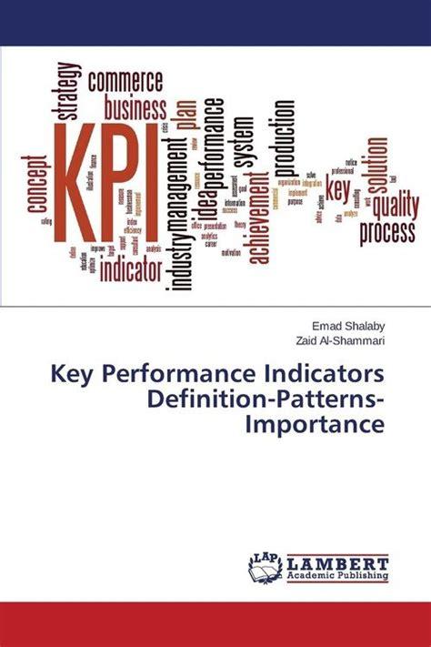key pattern definition key performance indicators definition patterns importance