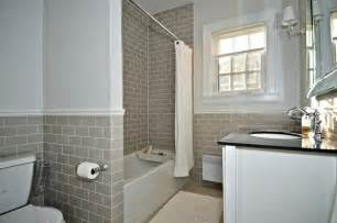 Subway Tile Bathroom by Gallery For Gt Light Grey Subway Tile Bathroom