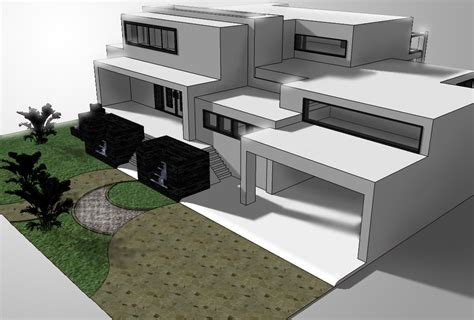 how to design a house in sketchup modern house on google sketchup by irvanqadri on deviantart
