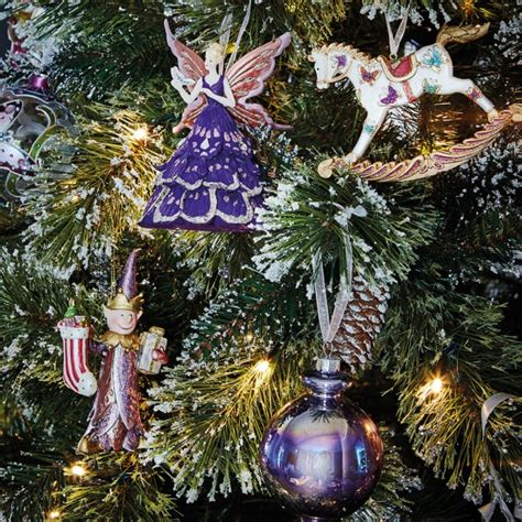 christmas tree decorations woman and home