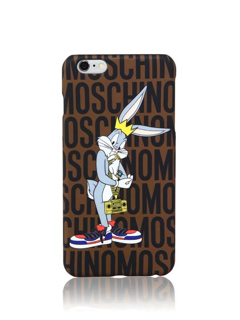 Bantal Mobil Set 3 Bugsbunny moschino looney tunes quot bugs bunny quot iphone 6 plus lyst