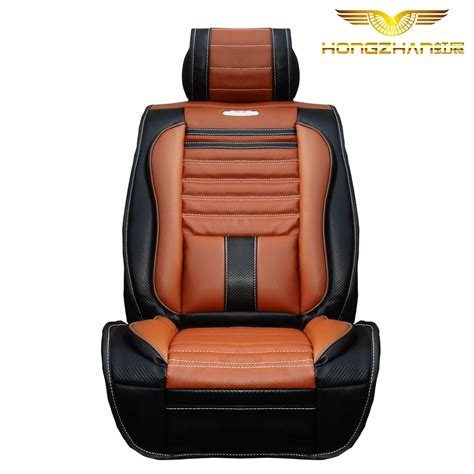 Leather Seat Luxury Bamboo Charcoal Fiber Car Seat Ranunculaceae