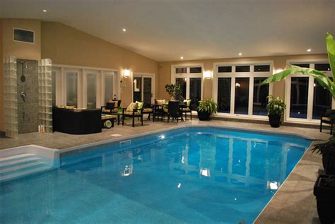indoor pools in homes 20 homes with beautiful indoor swimming pool designs