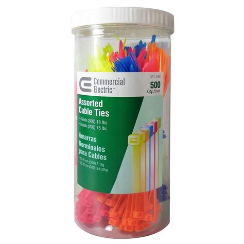 Window Canister Package commercial electric 8 in tie canister assorted 500