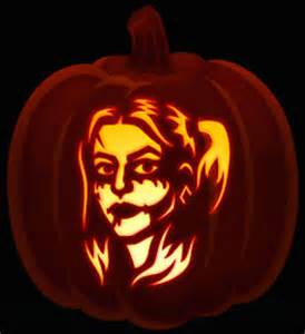 Harley Quinn Pumpkin Template cool pumpkin carving ideas to try for spooky celebrations on october 31 mirror