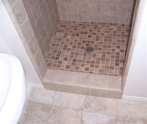 bathroom floor tile size