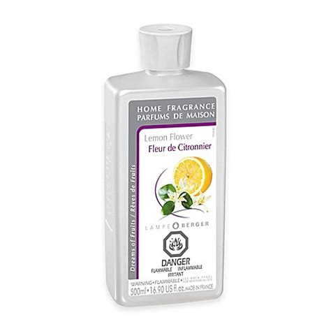 le berger oil bed bath and beyond le berger lemon flower 16 9 oz home fragrance bed