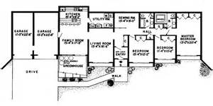Berm Home Plans by Glennon Green Berm Home Plan 038d 0136 House Plans And More