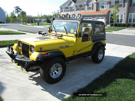 1989 Jeep Wrangler 2 5 Engine 1989 Jeep Wrangler Yj 2 5l 4cyl 5 Speed