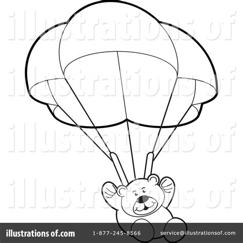 Parachute Coloring Pages Teddy Bear Parachute Coloring Pages by Parachute Coloring Pages