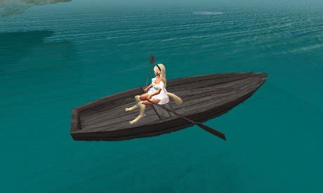 cartoon boat with oars second life marketplace 2li quot nekka s nonsculpty nonmesh