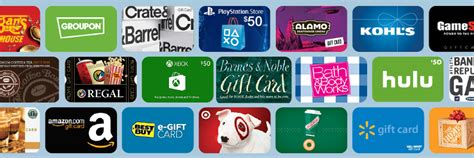 How To Get Gift Cards - discounts 8 ways to get gift cards for less creditcards com