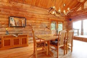 interior log homes log cabin dining room interior custom furniture decor