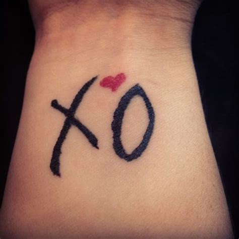 Tattoo Xo | xo tattoo tattoos pinterest