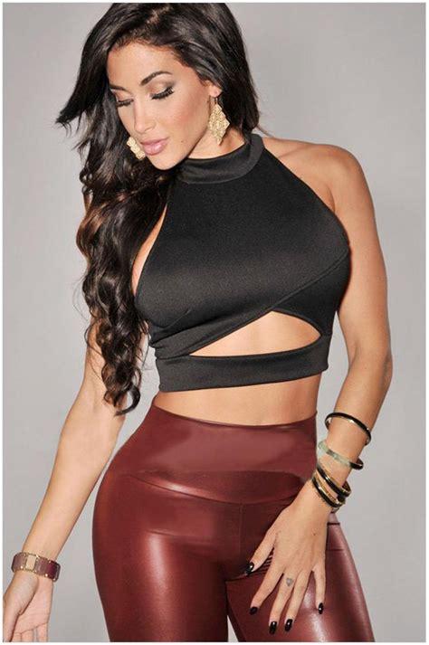 sexy tight shirt sexy women ultra short tight t shirts 2015 summer western