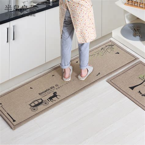 Hallway Mat by 50x80cm 50x160cm Set Doormat Non Slip Kitchen Carpet Bath