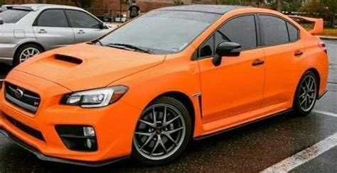 orange subaru wrx orange 2015 subaru wrx sti subaru pics subie