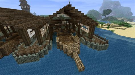 boat dock in minecraft benadi boat design minecraft