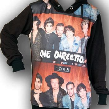 one direction 1d boyband rock hoodie from feverfabric on