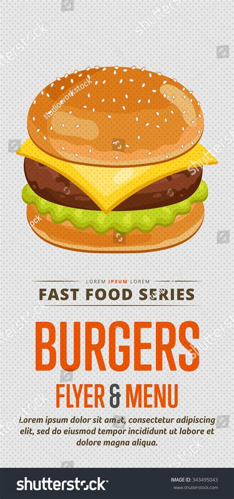 template flyer burger cheeseburger menu flyer design template template flyer