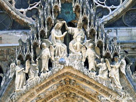The Of by Notre Dame De Reims The Exterior Reims Travel