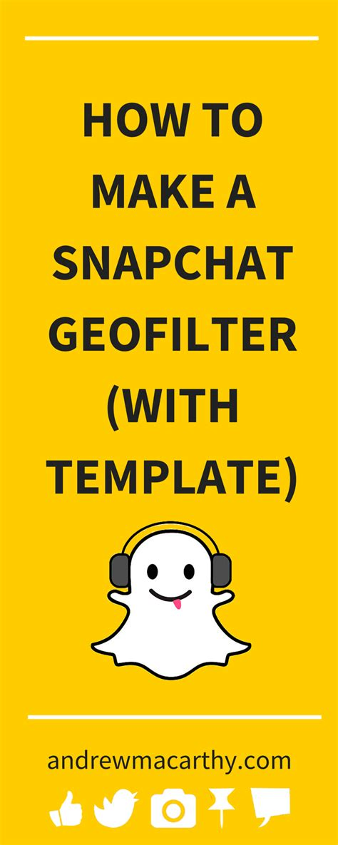 How To Create A Snapchat Geofilter For Business With Photoshop And Illustrator Templates Snapchat Illustrator Template