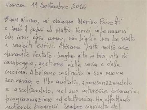 lettere al corriere lettera di un pap 224 171 mio figlio non ha fatto i compiti ha