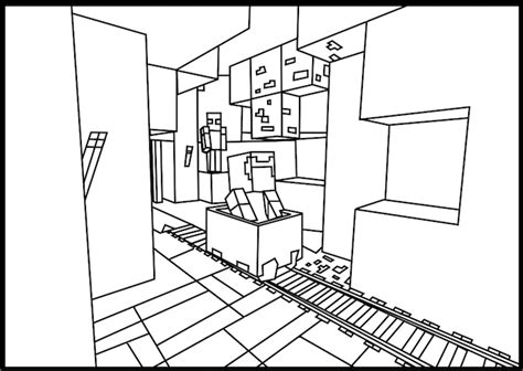 coloring pages of minecraft houses 17 best images about minecraft on pinterest coloring