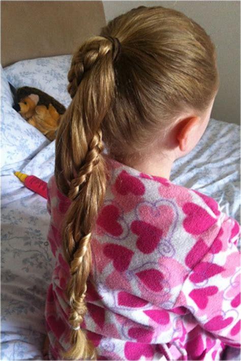 darling ponytail hair top 10 darling hairdos for your little princess rapunzel