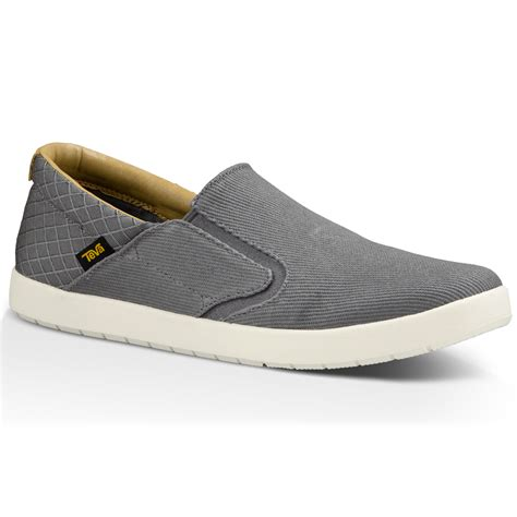 on shoes teva s sterling slip on shoes grey