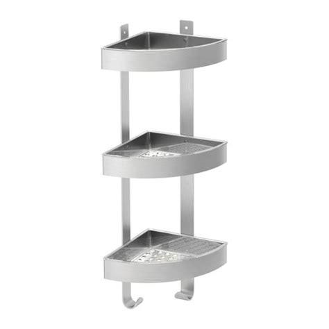 ikea bathroom caddy ikea shower grundtal corner wall shelf unit stainless