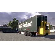 Curtainside Trailer With Forklift – ETS2planetcom