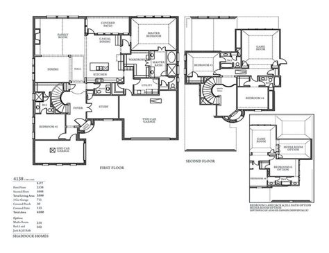 shaddock homes floor plans sh 4138 shaddock homes dallas custom homes house