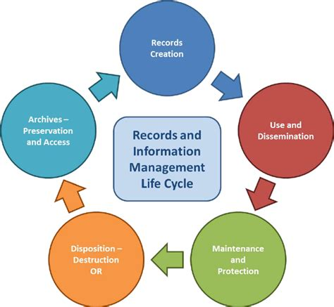Information Records Records And Information Management Cycle